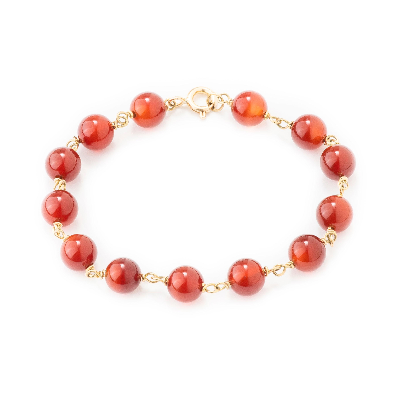 Bracelet cornalines