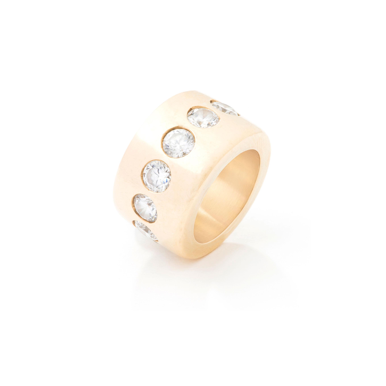 Bague anneau morganites