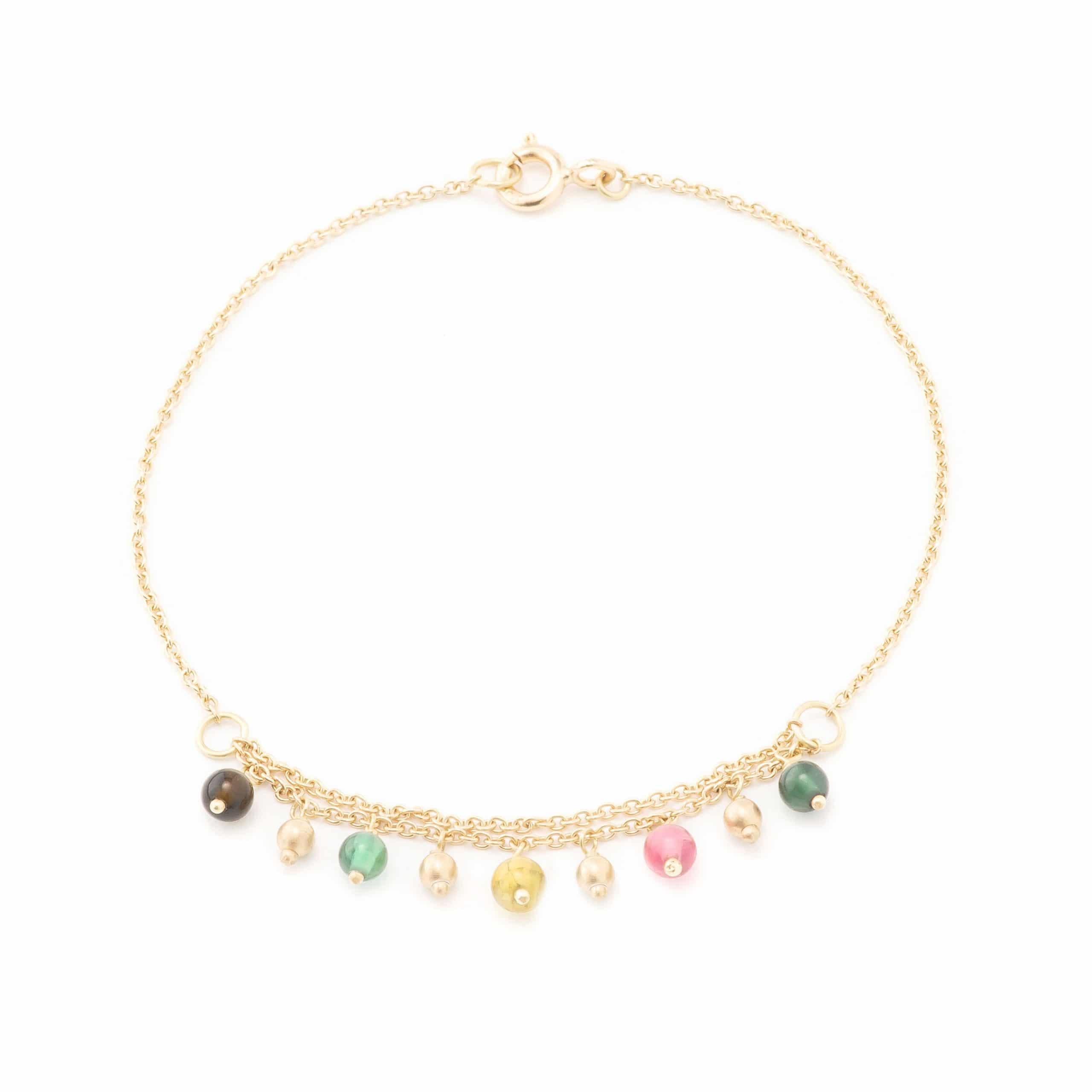 Bracelet tourmalines