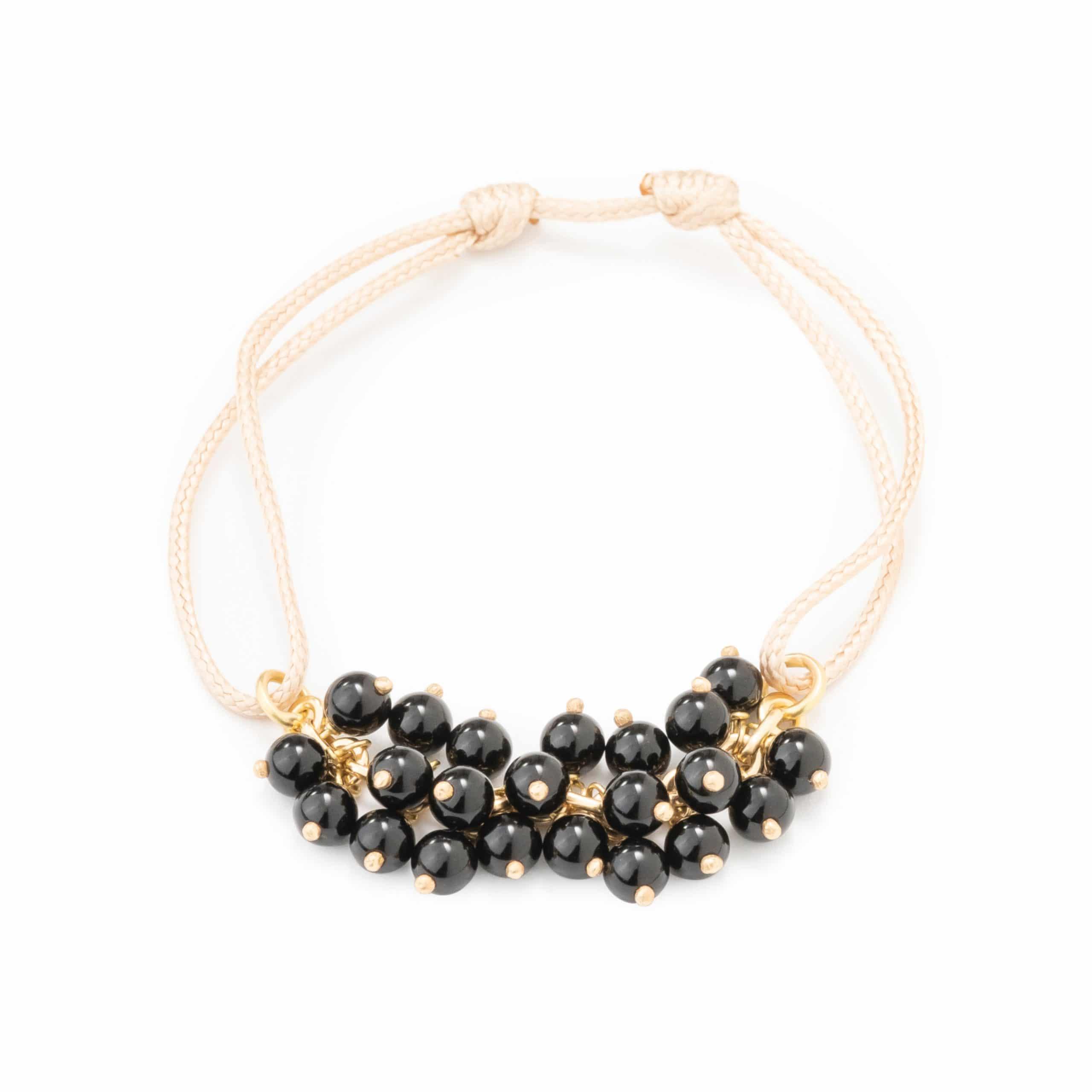 Bracelet-lien onyx