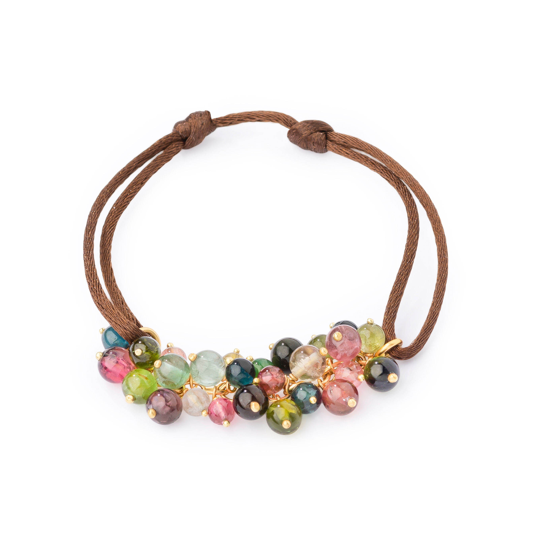 Bracelet-lien tourmaline