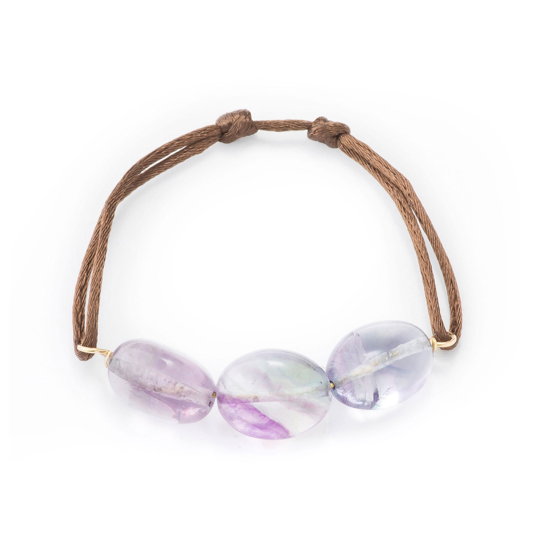Bracelet-lien fluorites