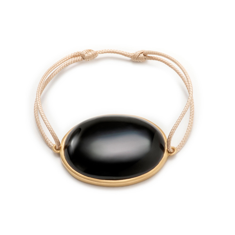 Bracelet lien onyx